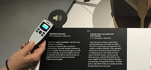 audio guide bizarium